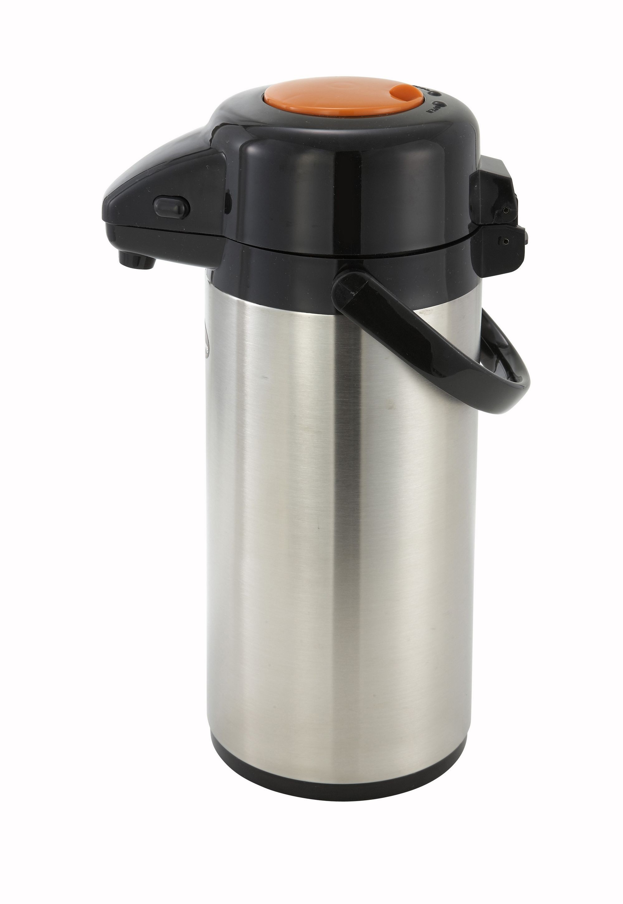 Winco APSP-925DC Decaf Vacuum Server with Stainless Steel Liner and Push Button Top 2.5 Liter