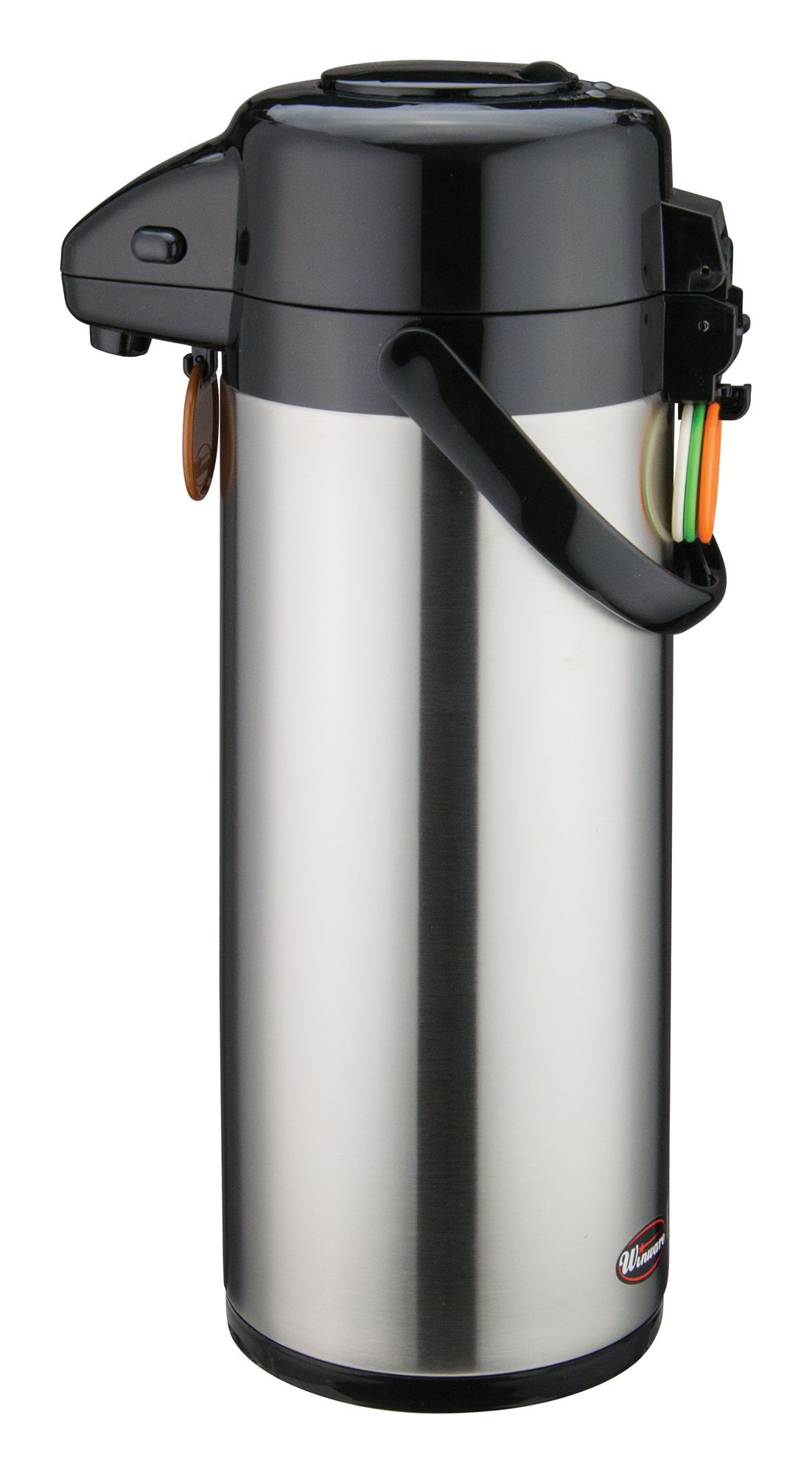 Winco APSP-930 Vacuum Server with Stainless Steel Liner and Push Button Top 3.0 Liter