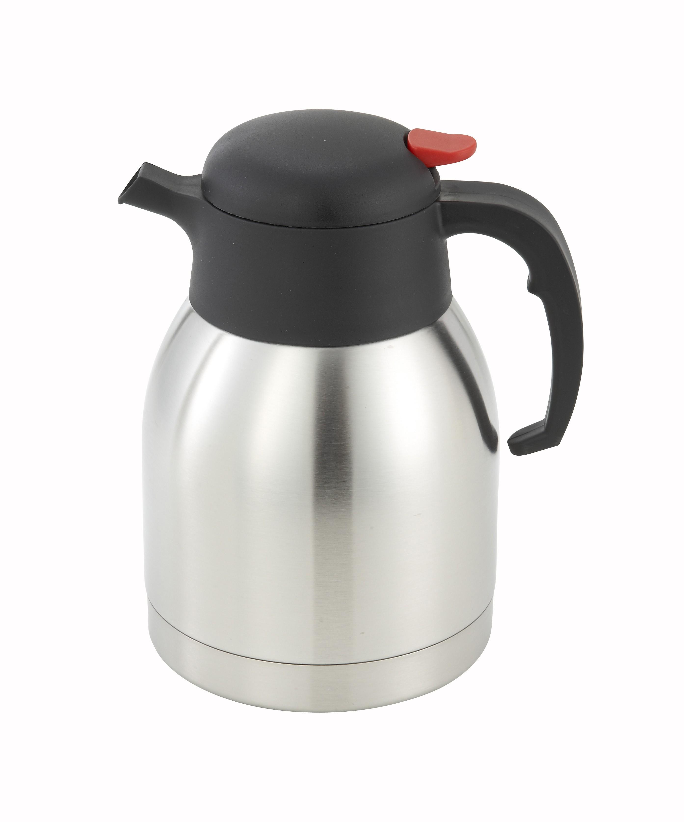 Winco CF-1.5 Stainless Steel Carafe 1.5 Liter