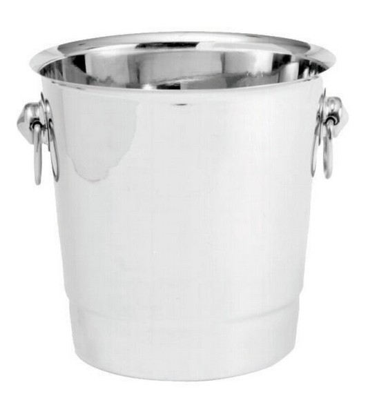 Stainless Steel Champagne/Wine Bucket - 7-5/8