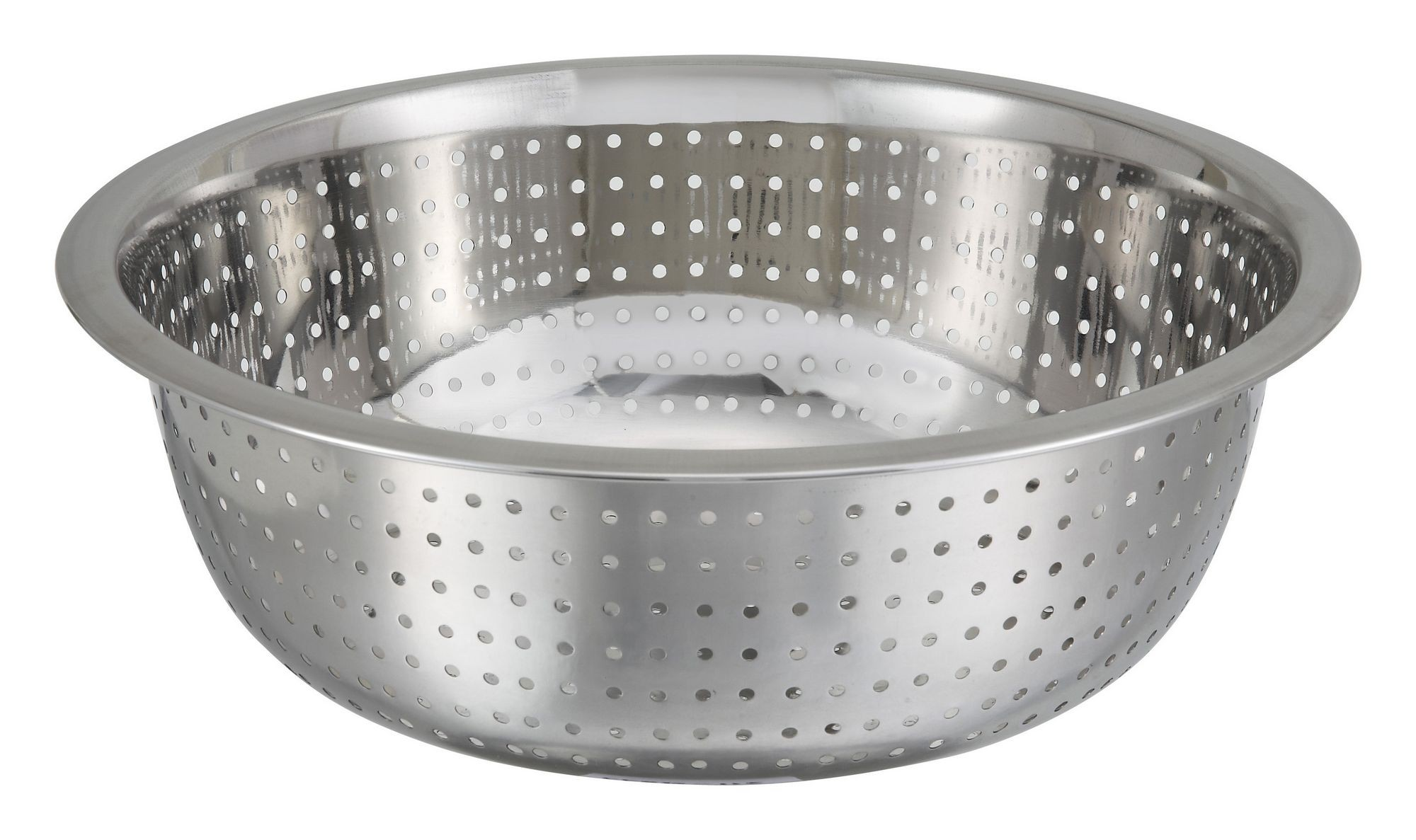 Winco CCOD-11S Stainless Steel Chinese Colander with 2.5 mm Holes 11""