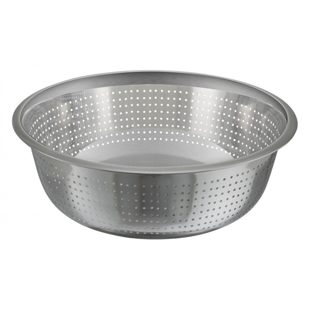 Stainless Steel Chinese Colander (2.5 MM. Holes) - 15