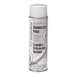 Stainless Steel Cleaner & Polish, Lemon, 18 oz. Aerosol Can