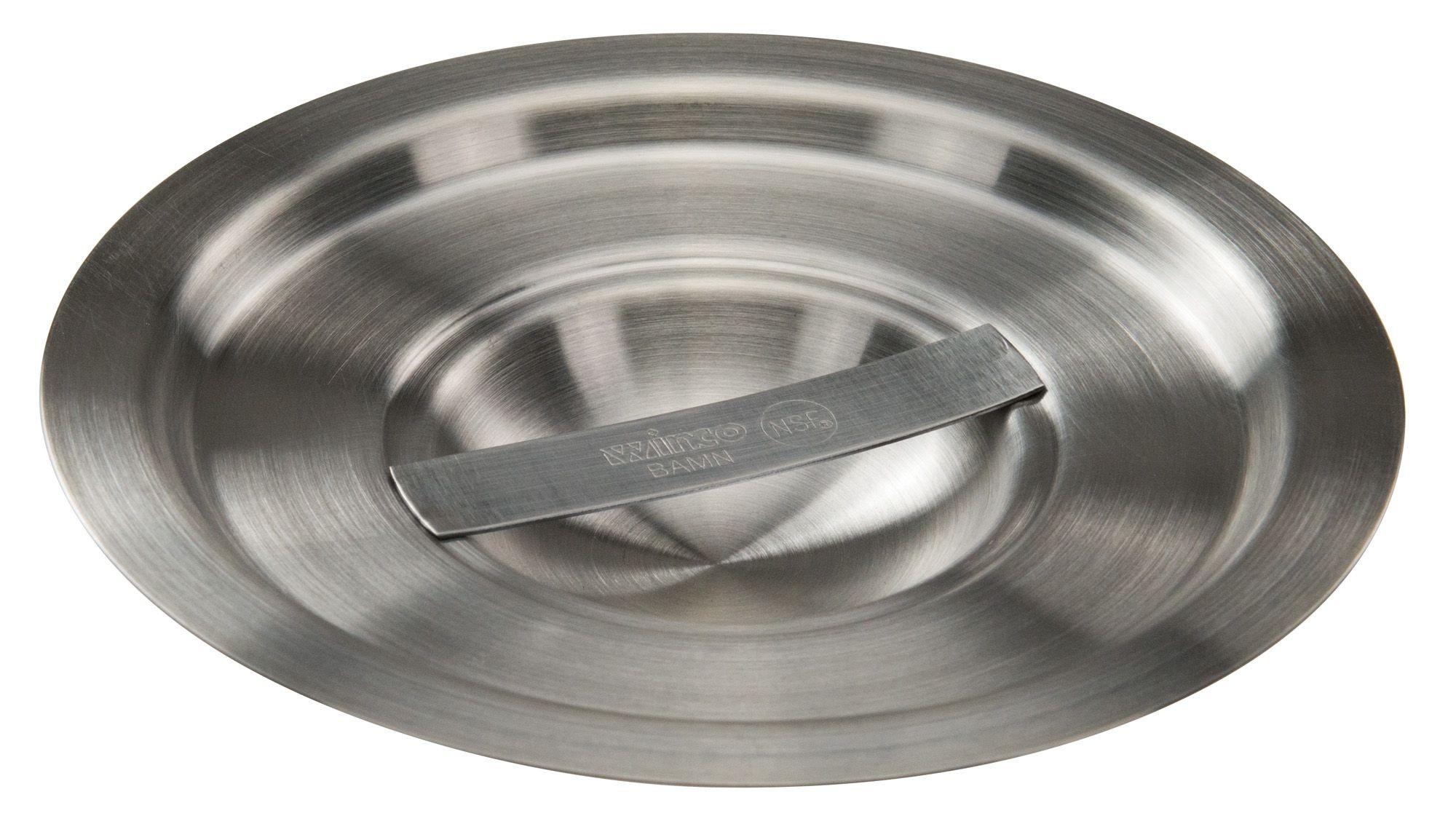 Winco BAMC-2 Stainless Steel Cover for 2 Qt. Bain Marie