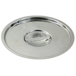 Winco BAMC-4.25 Stainless Steel Cover for 4.25 Qt. Bain Marie