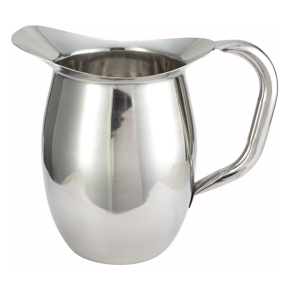 Stainless Steel Deluxe 2-Quart Bell Water Pitcher