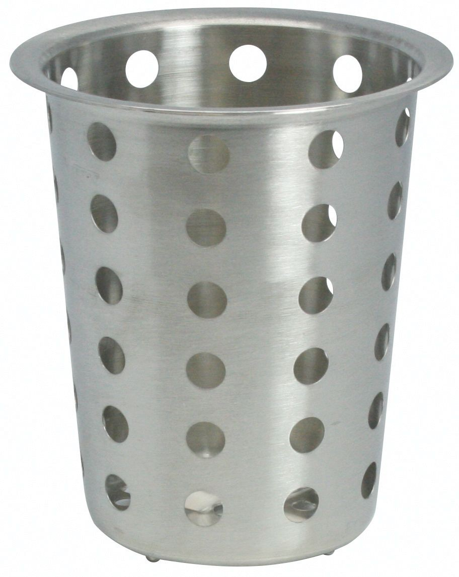 Winco FC-SS Stainless Steel Flatware Cylinder