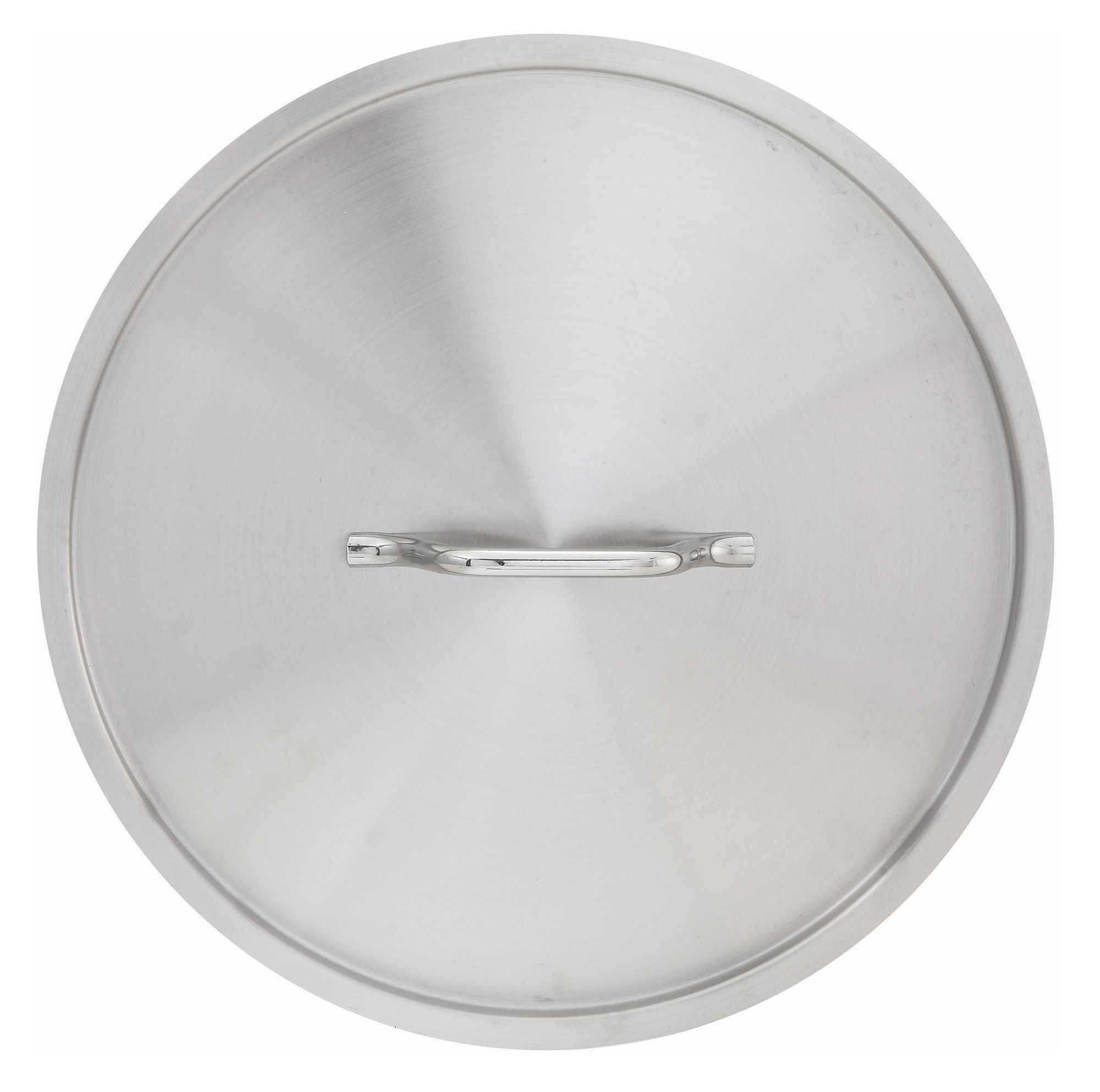 Winco SSTC-8F Stainless Steel Fry Pan Cover for SSFP-8 SSFP-8NS
