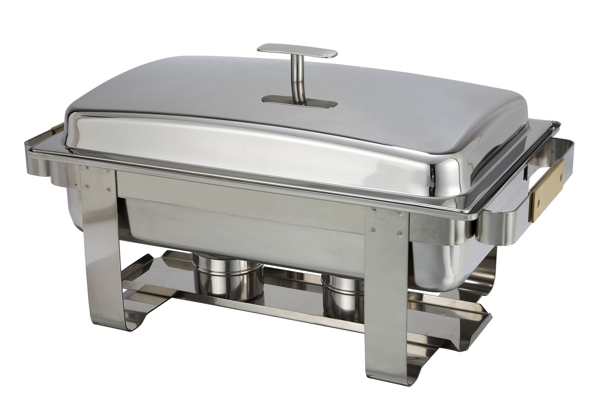 Winco C-6080 Stainless Steel 8 Qt. Dallas Chafer