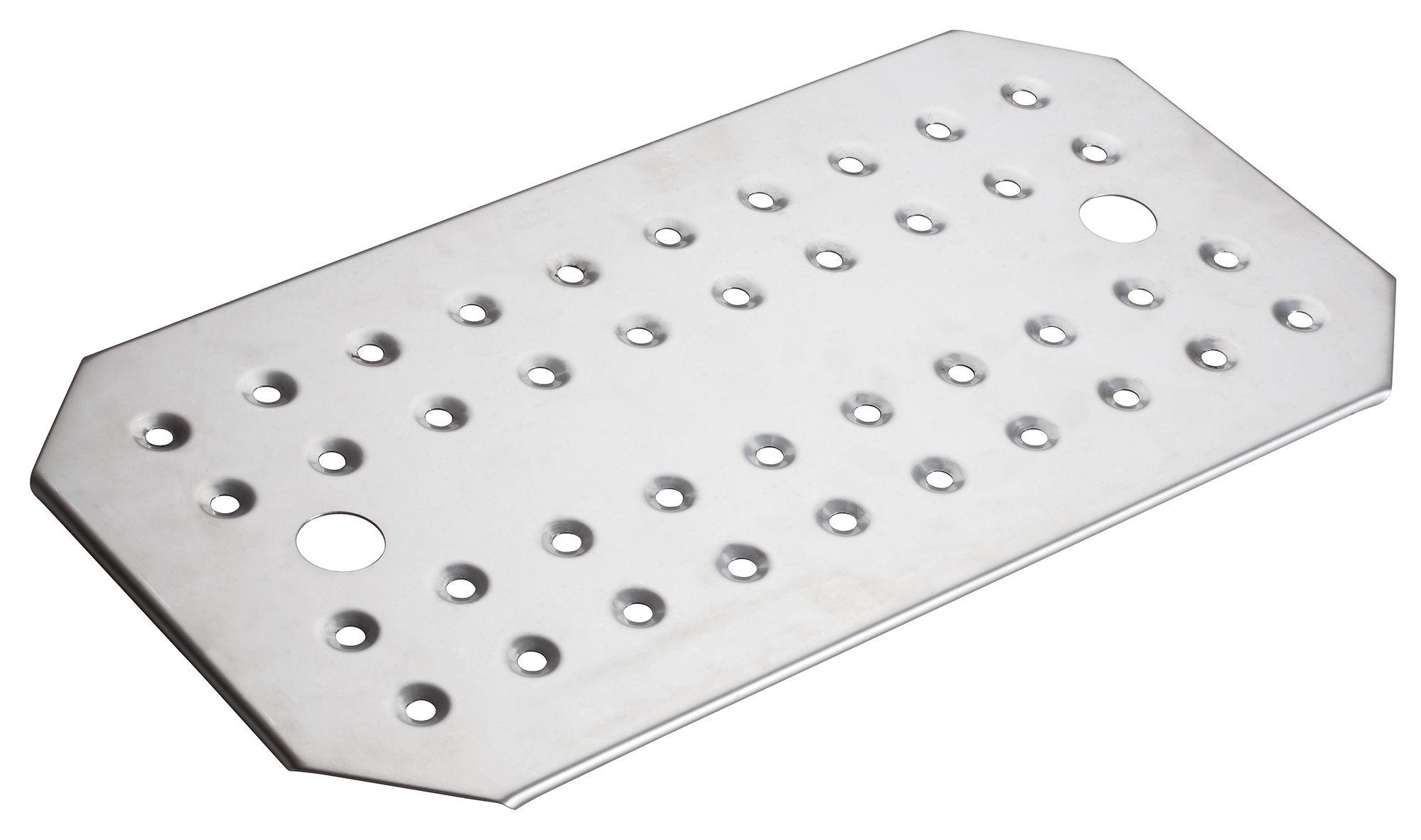Winco SPFB-1 Stainless Steel Full-Size False Bottom