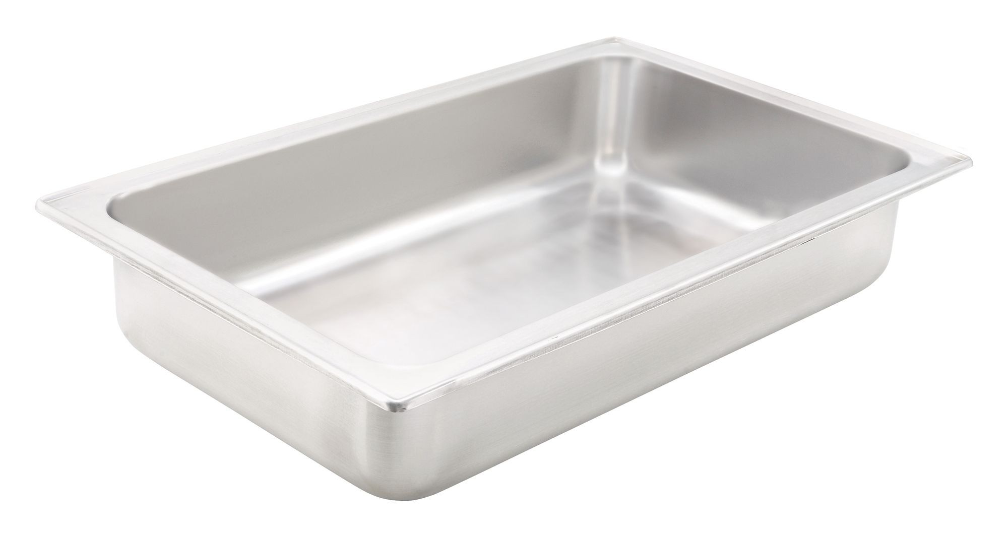 Stainless Steel Full Size Water Pan - 4 Deep