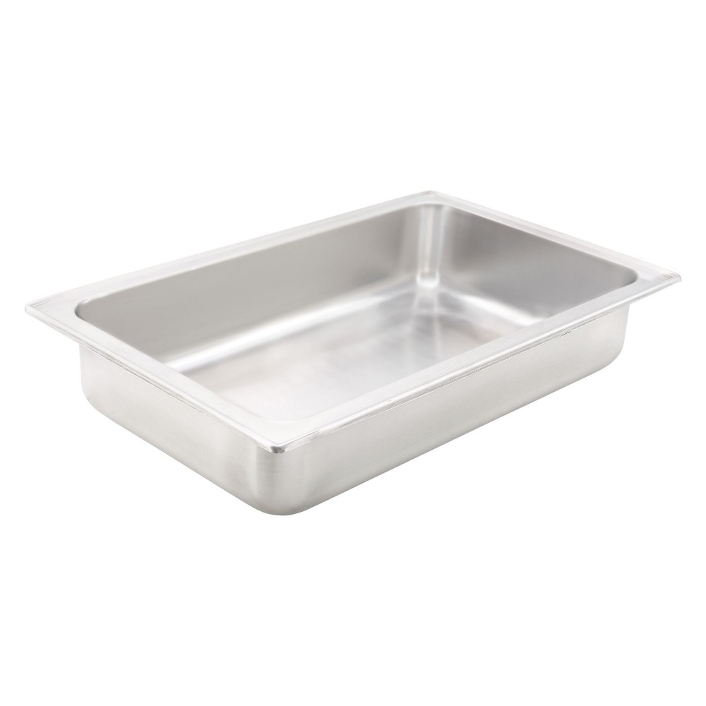 "Winco c-wpf Full Size Stainless Steel Dripless Water Pan 4"" Deep"