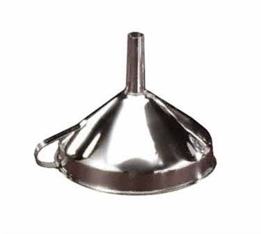 Stainless Steel Funnel - 3-9/10