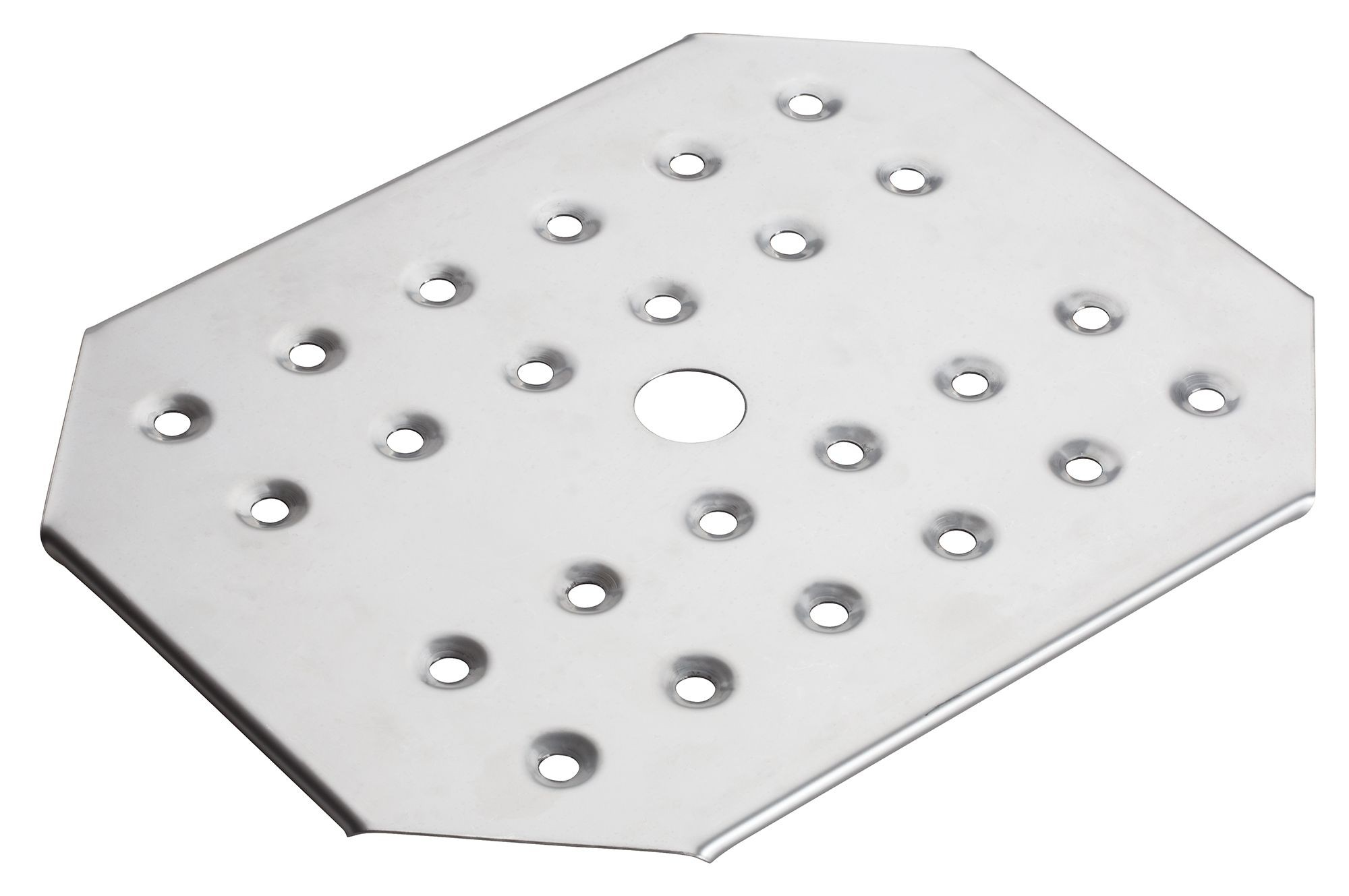 Winco SPFB-2 Stainless Steel Half-Size False Bottom