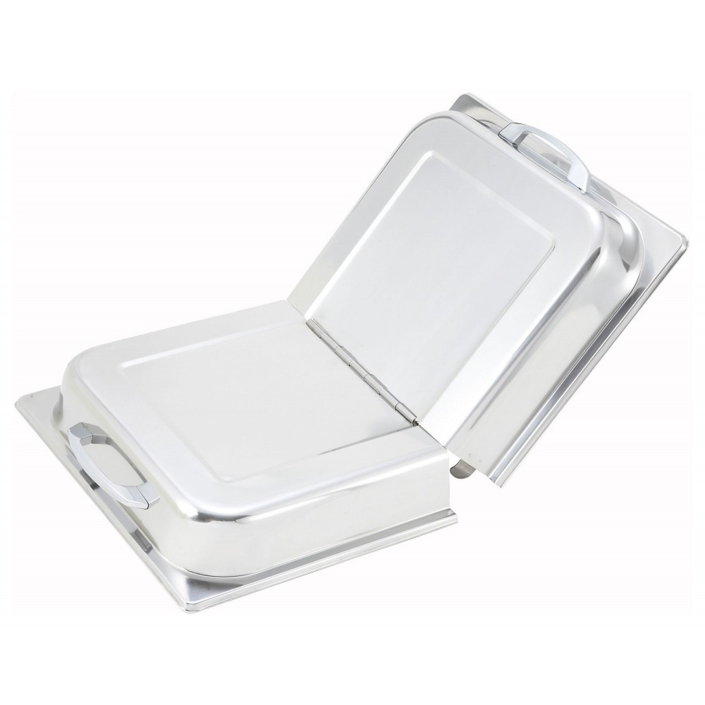 Stainless Steel Hinged Dome Cover With Handle For Chafers