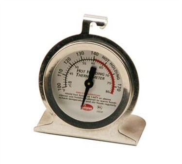 Franklin Machine Products  138-1186 Stainless Steel Holding Thermometer 100°F To 175°F