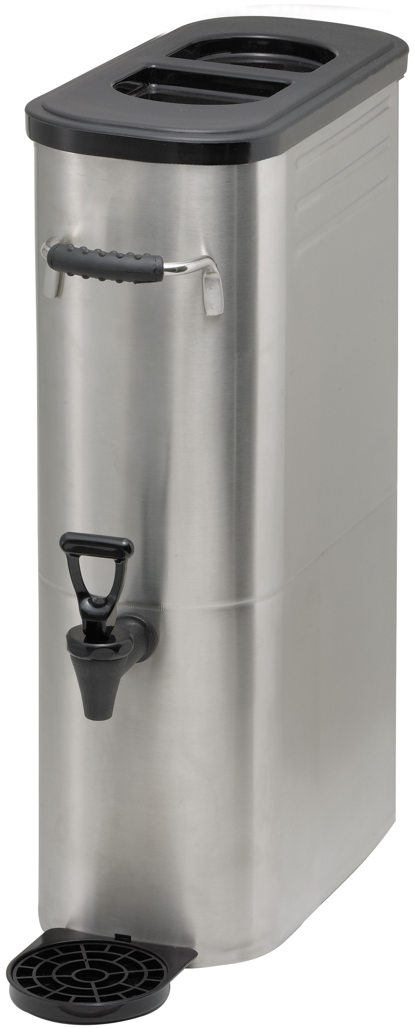 Stainless Steel Iced Tea Dispenser, 3 Gallons