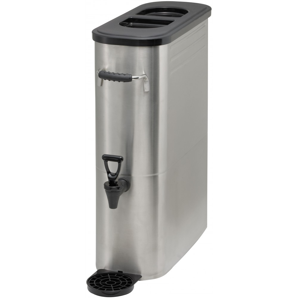 Stainless Steel Iced Tea Dispenser, 5 Gallons