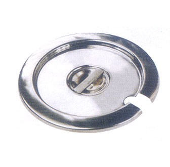 Winco INSC-25 Stainless Steel Inset Cover for 2-1/2 Qt. Inset