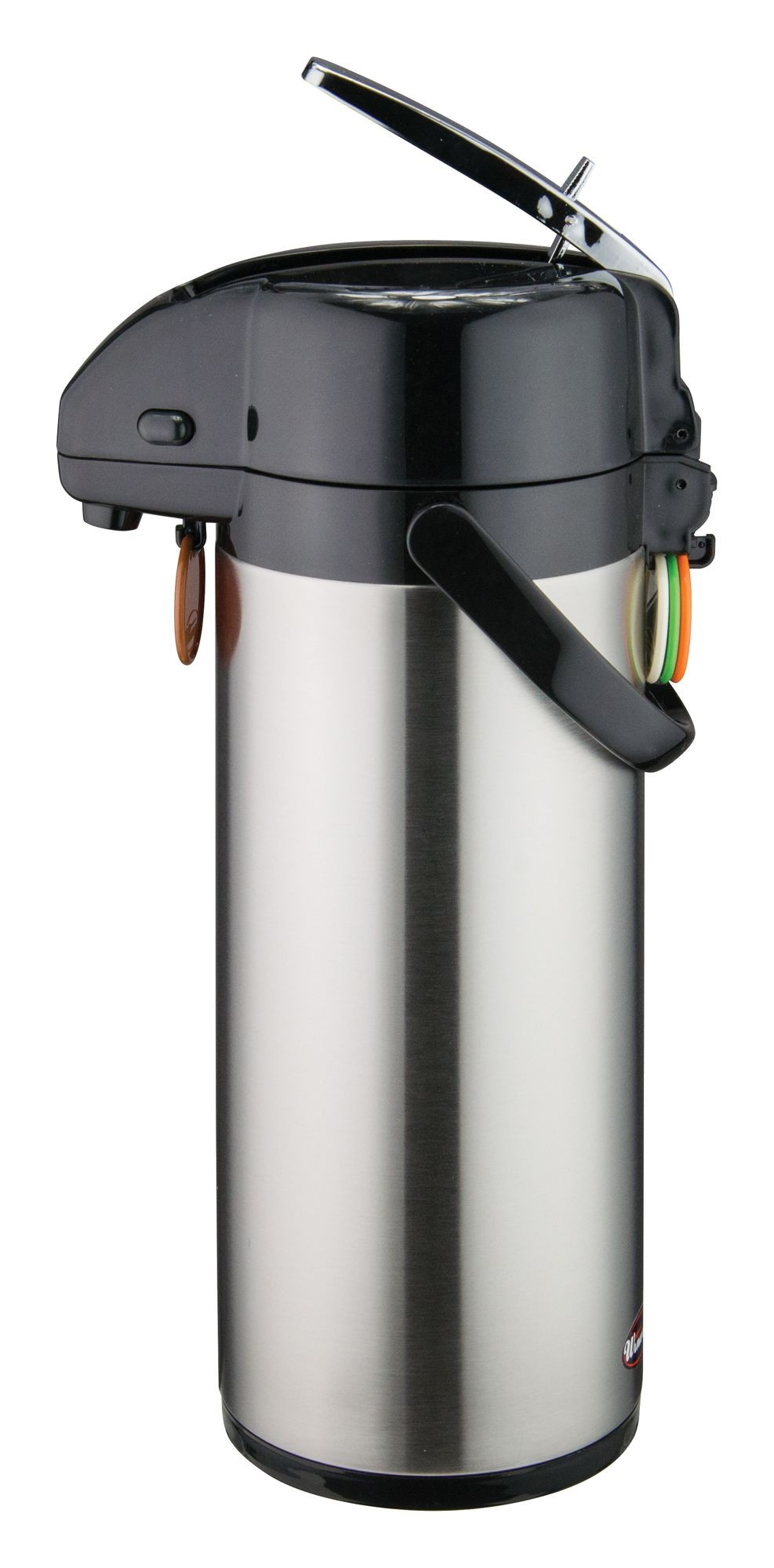 Stainless Steel Lever-Top 3.0-L Air Pot (10-24 Hr Heat)