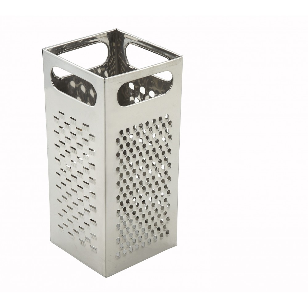 Stainless Steel Multi-Size Box Grater With Handle - 9 X 4