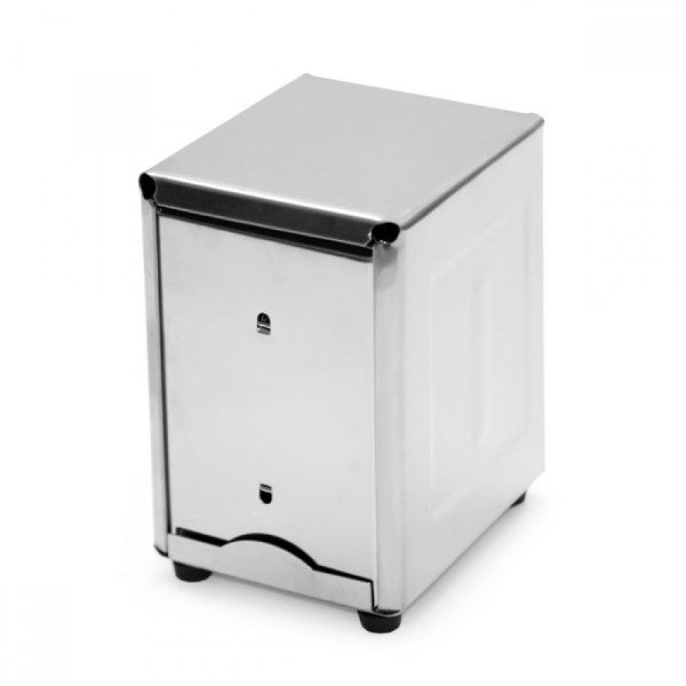 Stainless Steel Napkin Dispenser-Short