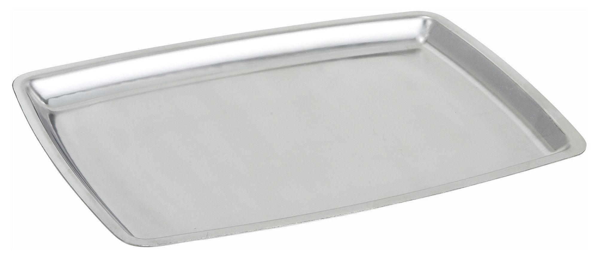 "Winco SIZ-11B Stainless Steel Oblong Sizzling Platter Only, 11"""