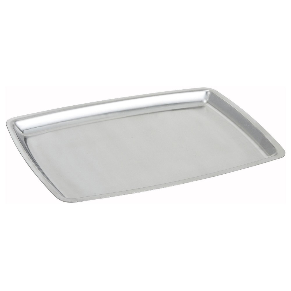 Stainless Steel Oblong Sizzling Platter - 11 (base not included)