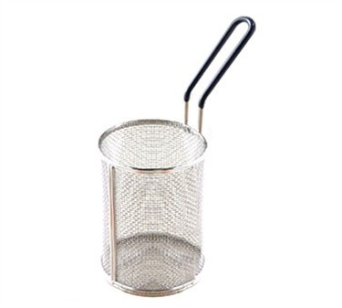 Stainless Steel Pasta Basket With PVC Handle - 5-1/4