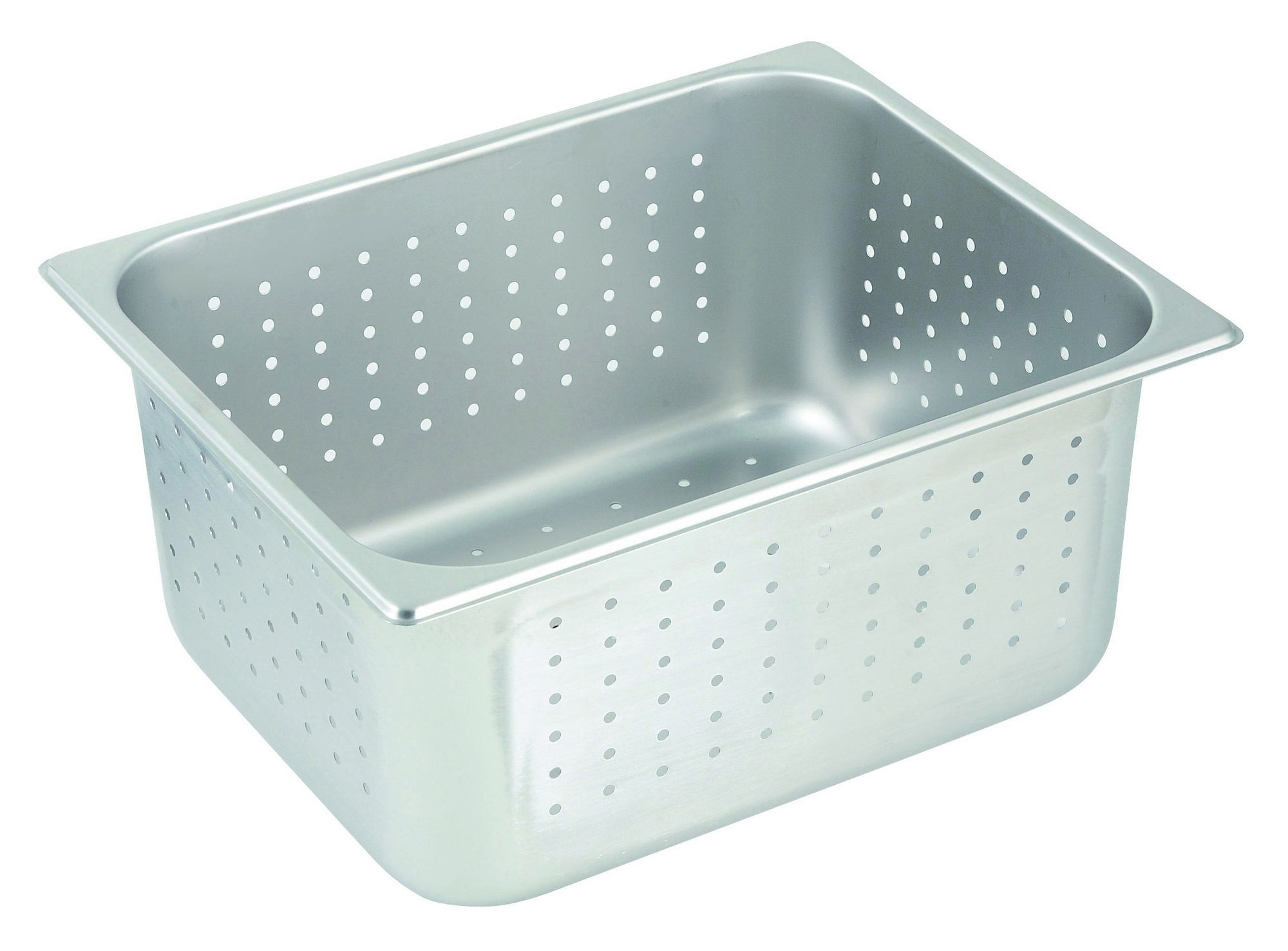 Stainless Steel Perforated Half-Size Steam Table Pan - 6