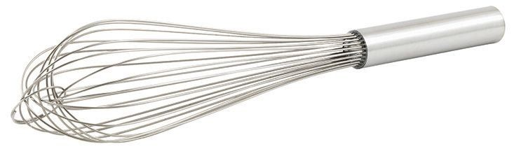 Winco PN-12 Stainless Steel Piano Wire Whip 12""