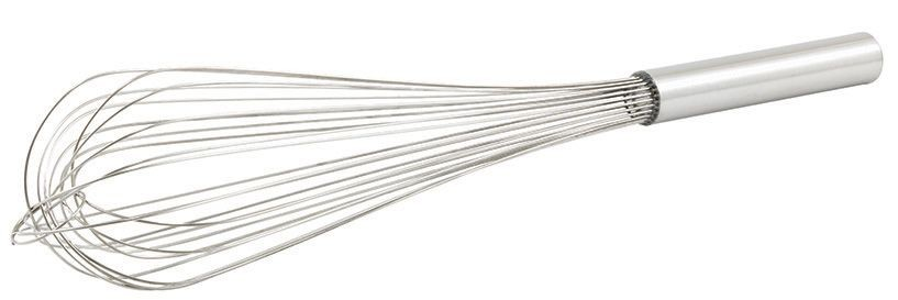 Winco PN-18 Stainless Steel Piano Wire Whip 18""