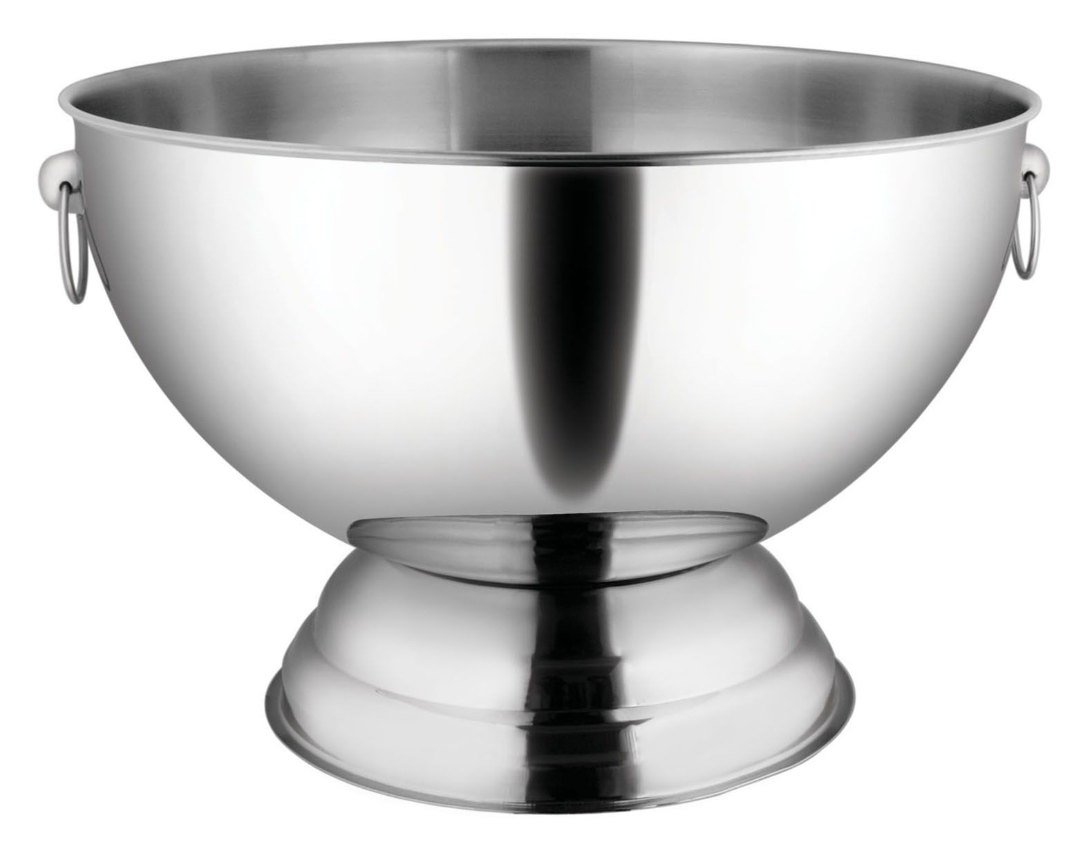 Winco SPB-35 Stainless Steel Punch Bowl, 3.5 Gallons