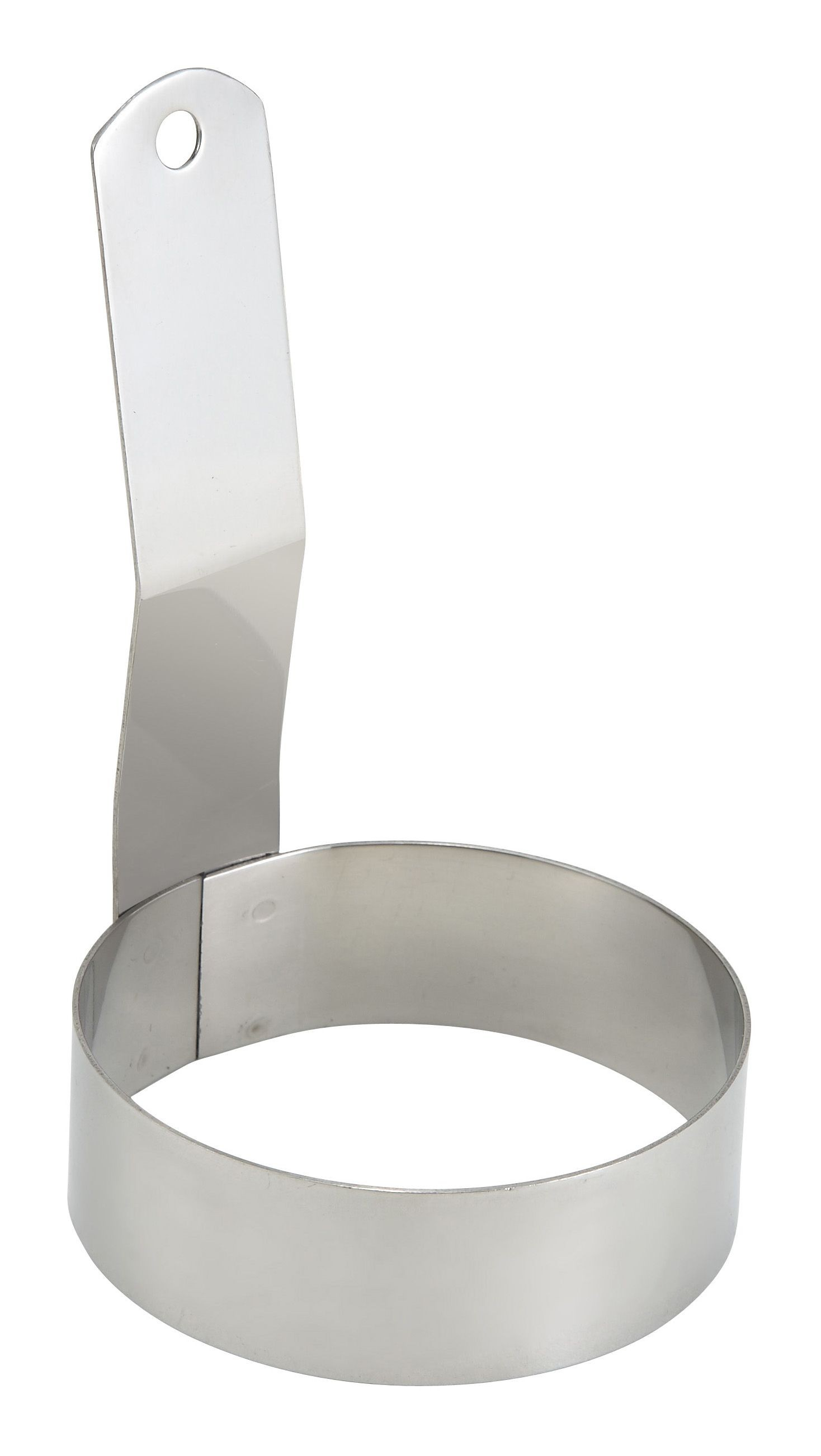 Winco EGR-3 Stainless Steel Round Egg Ring 3""