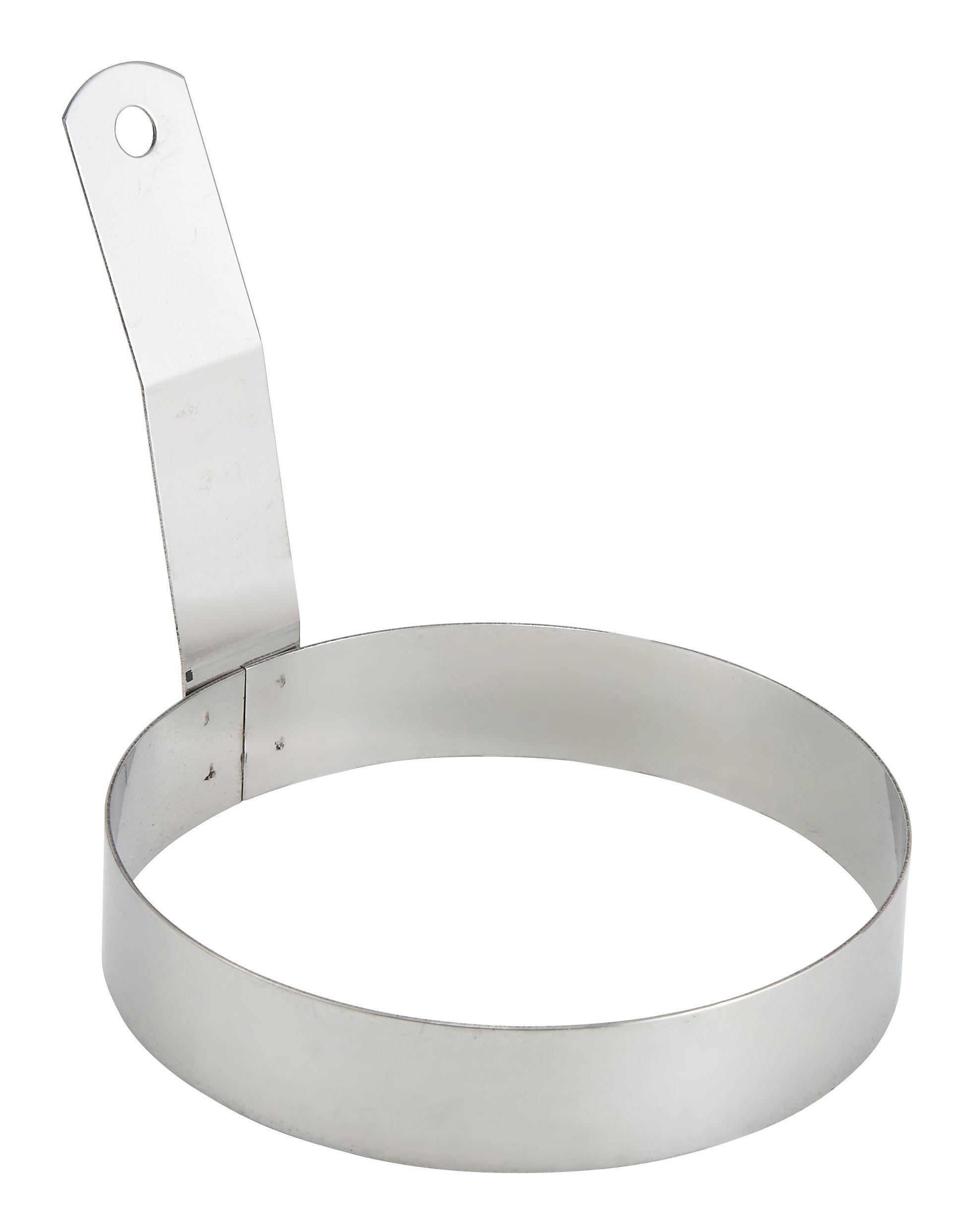 "Winco EGR-5 Stainless Steel Round Egg Ring 5"""