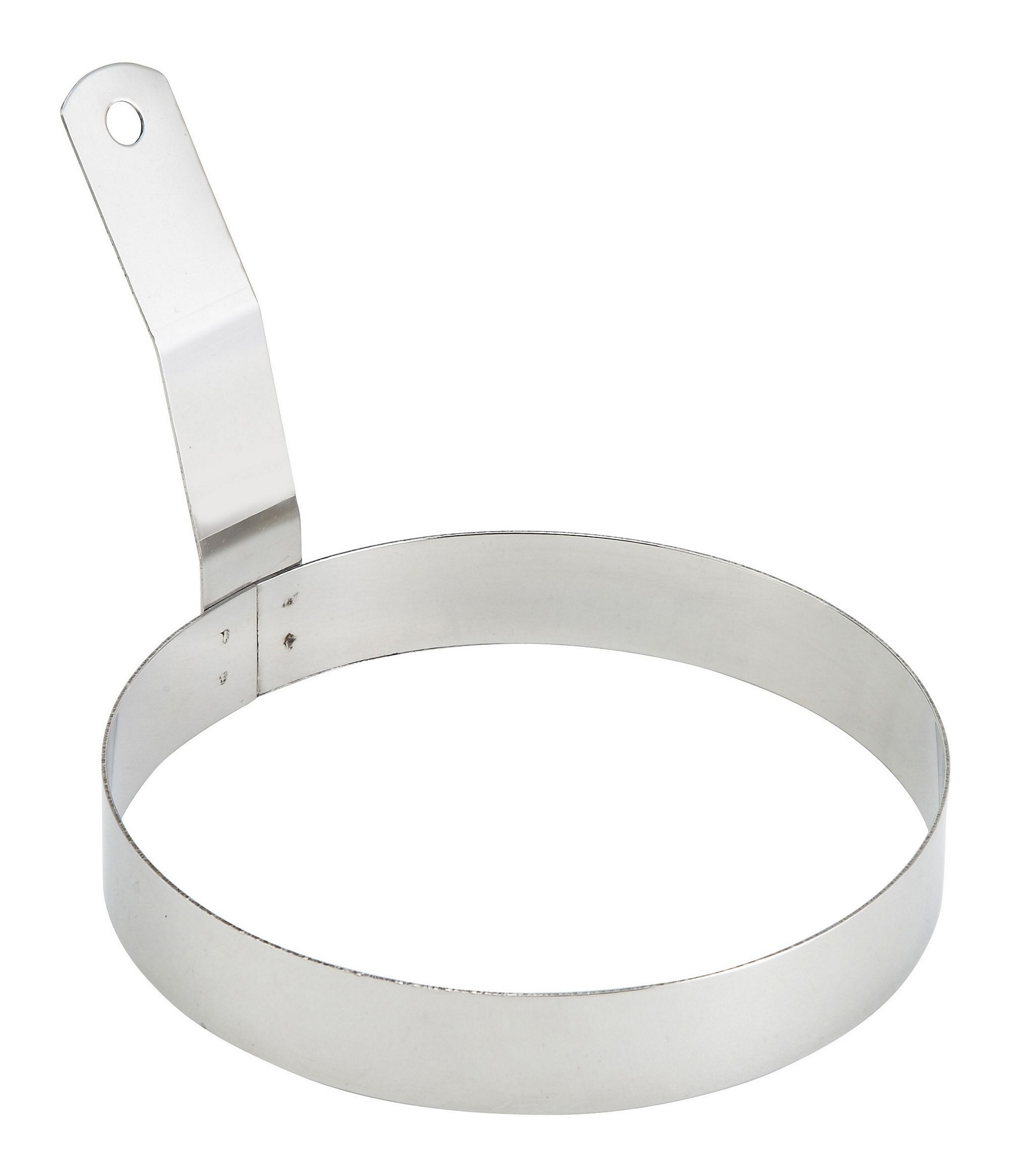Winco EGR-6 Stainless Steel Round Egg Ring 6""