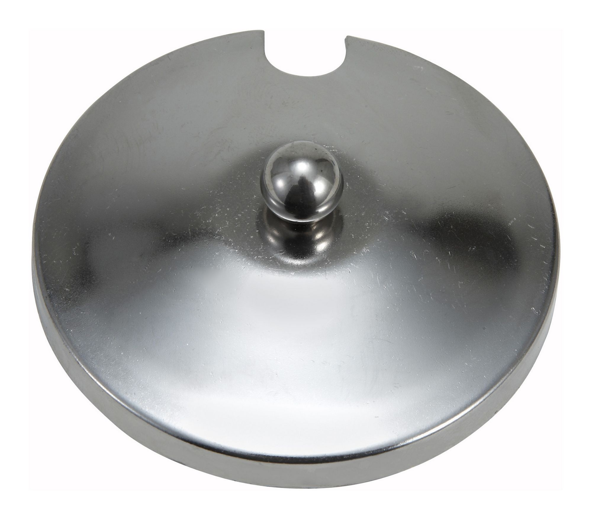 Winco CJ-2C Stainless Steel Slotted Jar Cover for CJ-7P and CJ-7G