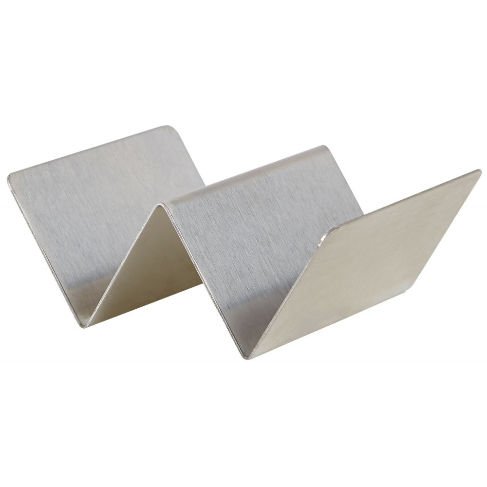 Stainless Steel Taco Holder with 1-2 Compartments