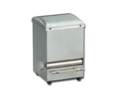 "TableCraft 236 Stainless Steel Toothpick Dispenser 3-3/4"" x 4-1/2"""