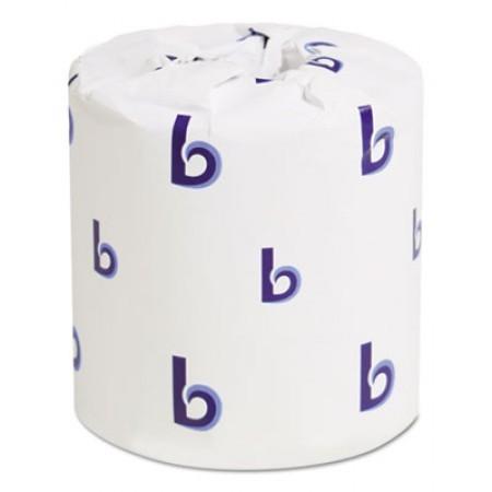 Standard 2-Ply Bathroom Tissue, 500 Sheets/Roll, 96/Carton