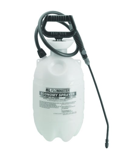 Standard Sprayer, 2 Gallon, Polyethylene, Translucent White