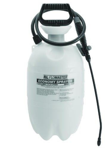 Standard Sprayer, 3 Gallon, Polyethylene, Translucent White