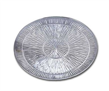 Starburst Design High Impact Styrene Round Tray - 13