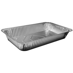 Steam Table Aluminum Pan, Full-Size, Deep