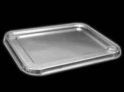 Steam Table Pan Foil Lid, Fits Half-Size Pan, 12 13/16x10-7/16