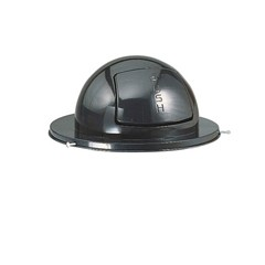 Steel Dome Drum Top, 20dia x 10h, Black