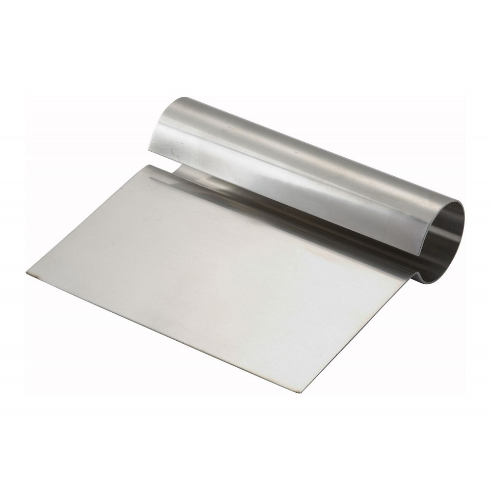 "Stainless Steel Dough Scraper, 5-1/4"" x 4-1/4"""
