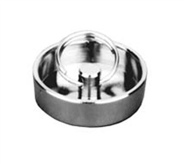 Franklin Machine Products  102-1045 Nickel-Plate d  Brass Stopper for 1-1/2