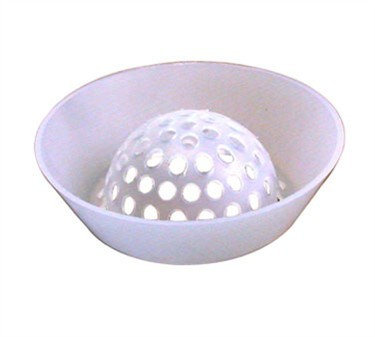 Franklin Machine Products  102-1147 Dome Floor Drain Strainer  9-3/4