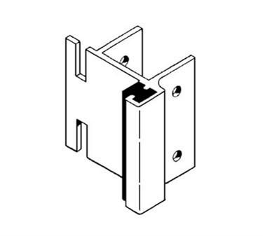 Franklin Machine Products  141-1109 Strike (Stall Dr, F/Throw Latch )